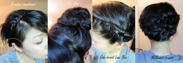 Ways To Wear Your Hair For Back To School LaBelleMel - Edit your hairstyle