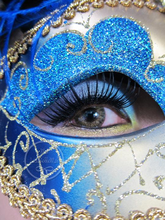 Elegant Masquerade Hair Makeup Tutorial Labellemel