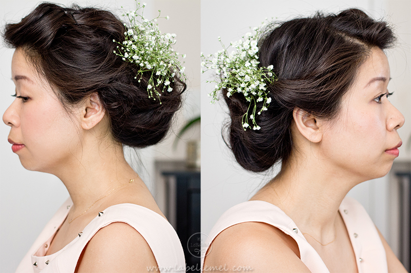 LaBelleMel_Summer Casual Bridal Updo2