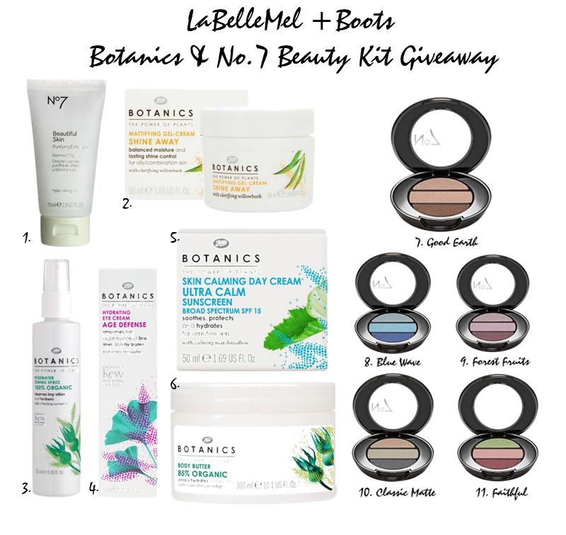 LaBelleMel+Boots+Botanics+Giveaway