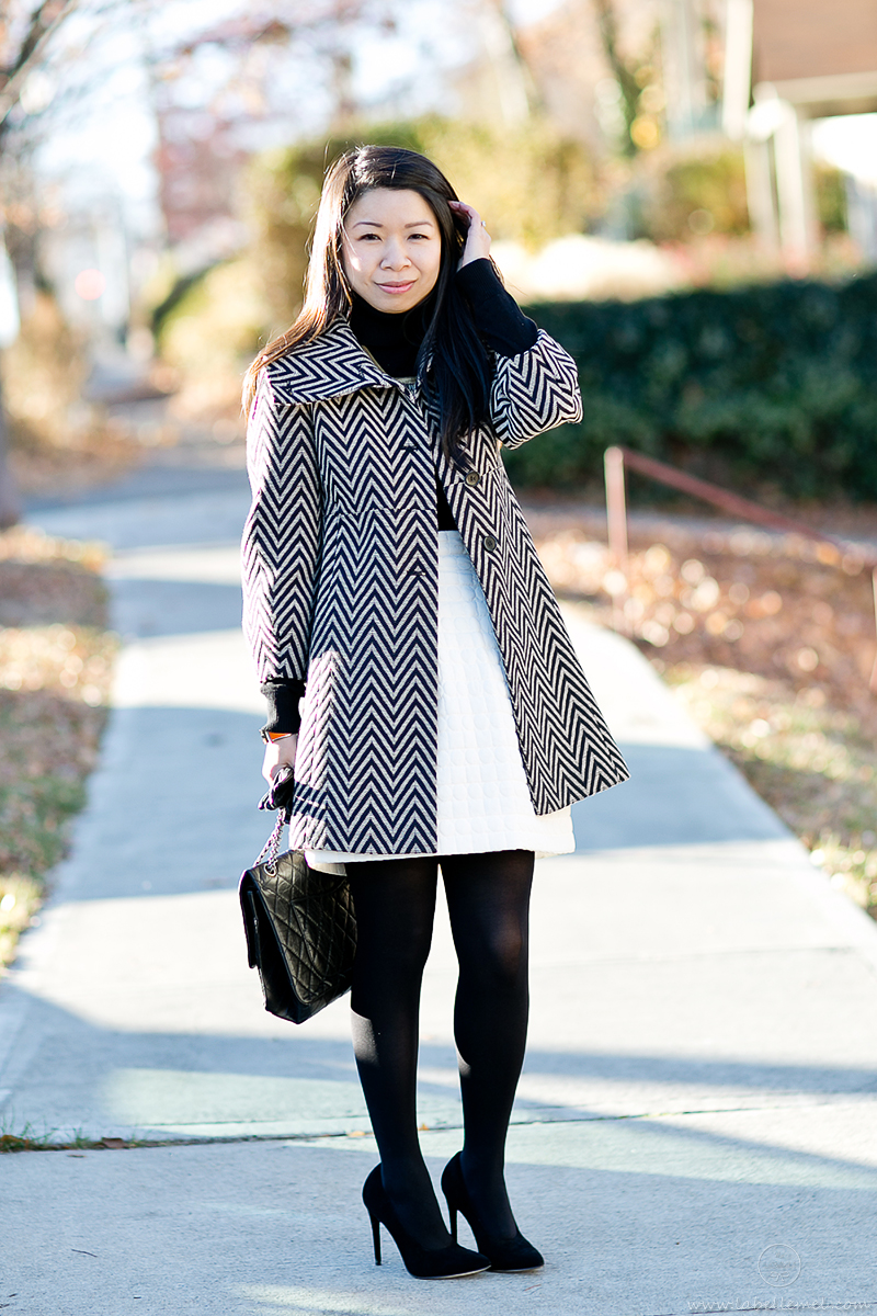 LaBelleMel-Chevron-Coat-Quilted-Skirt-2