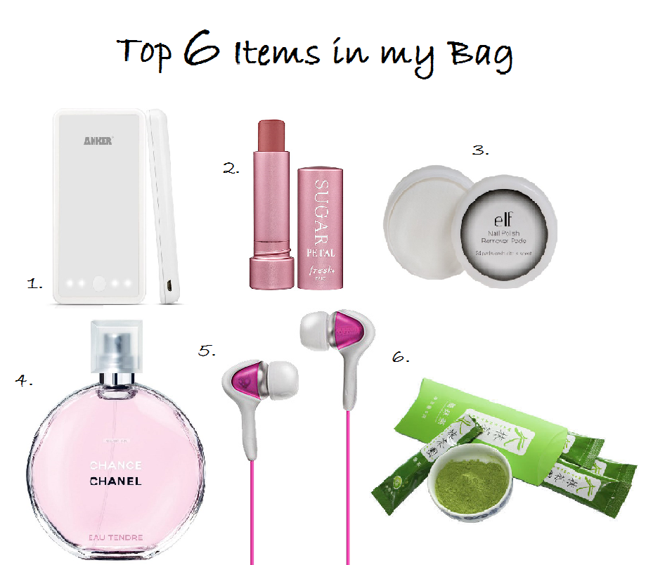 LaBelleMel-Top-6-Go-To-Items-Bag
