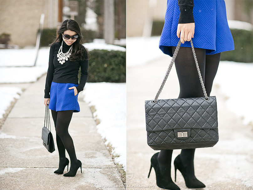 LaBelleMel_Winter Brights_Cobalt_Blue_Statement_Necklace_4