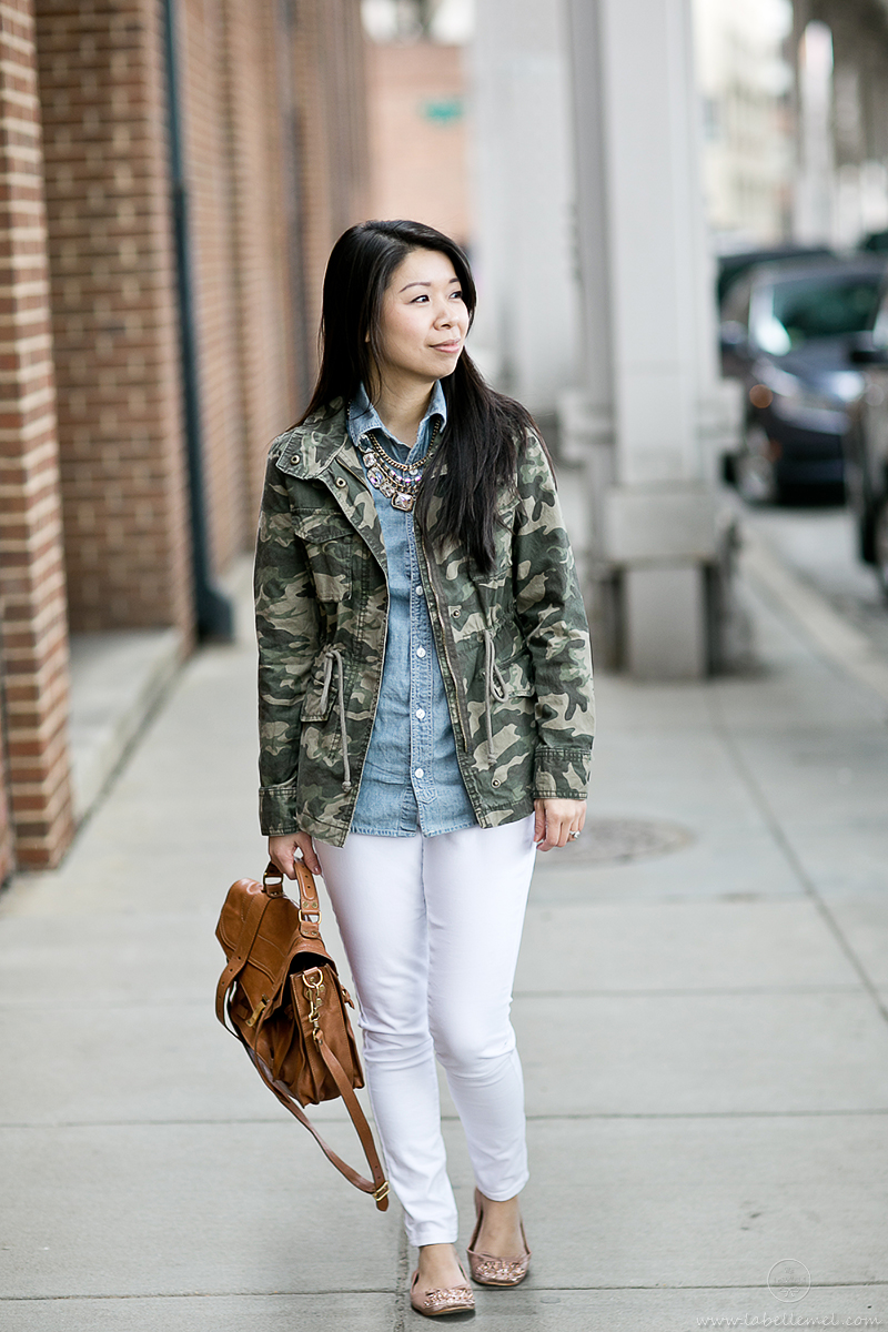 LaBelleMel-Weekend-Casual-Camo-Chambray-1