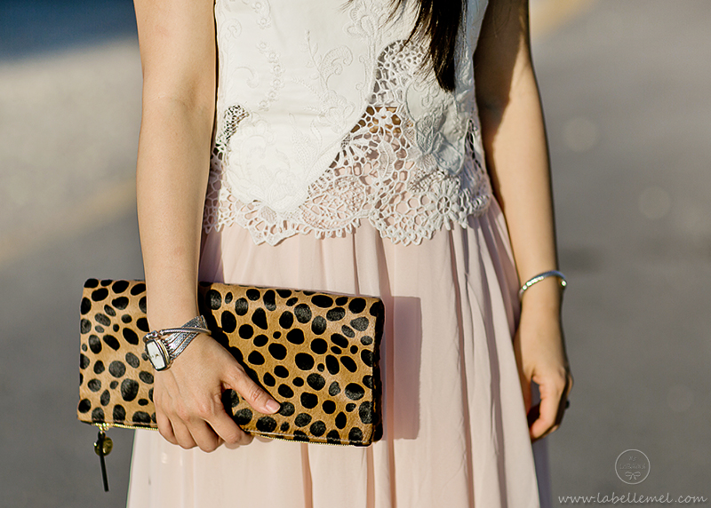 LaBelleMel-Airy-Leather-Lace-Blush-Calf-Length-Skirt-4