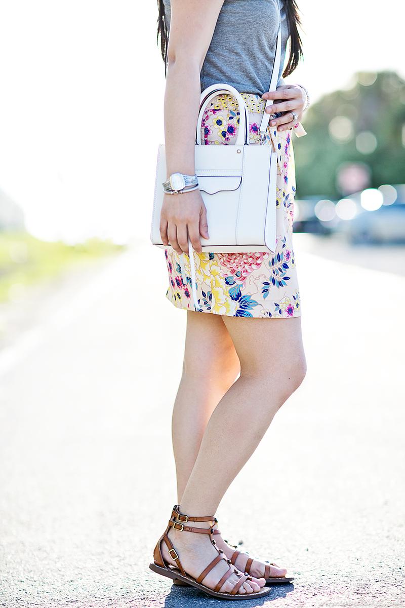LaBelleMel-Casual-Getaway-Tee-Floral-Skirt-2