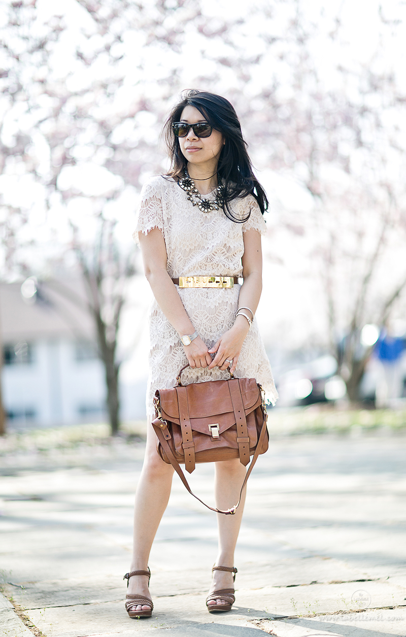 LaBelleMel-Cherry-Blossoms-Lace-Shift-Dress-Neutrals-1