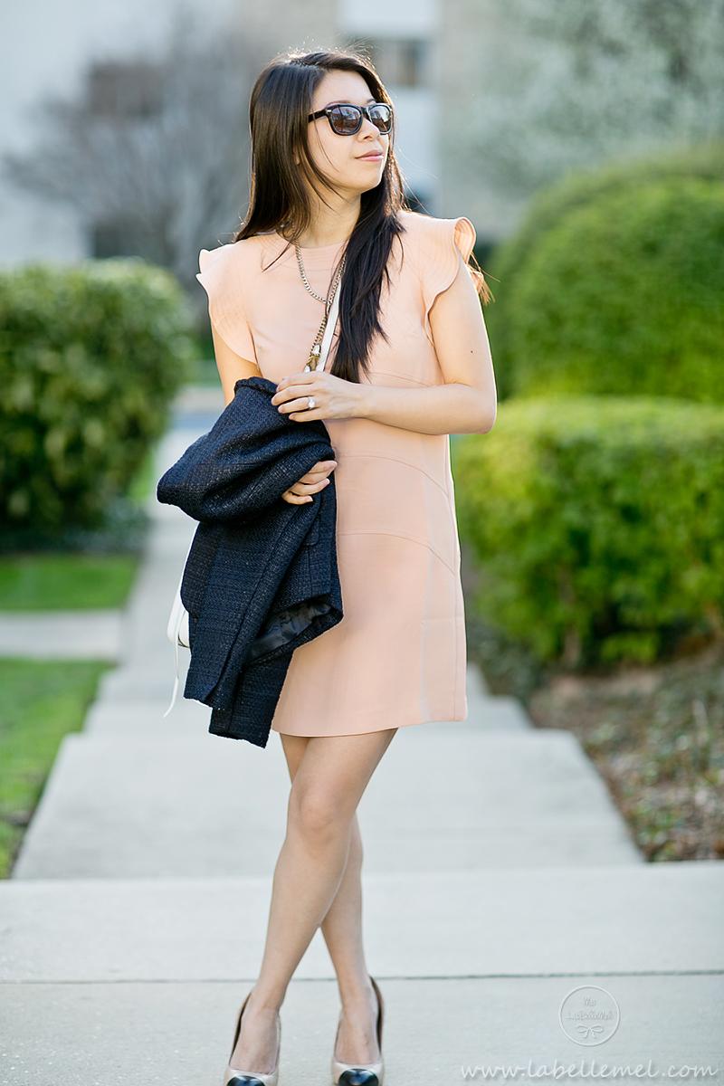 LaBelleMel-Workwear-Wednesday-Flutter-Shift-Dress-4