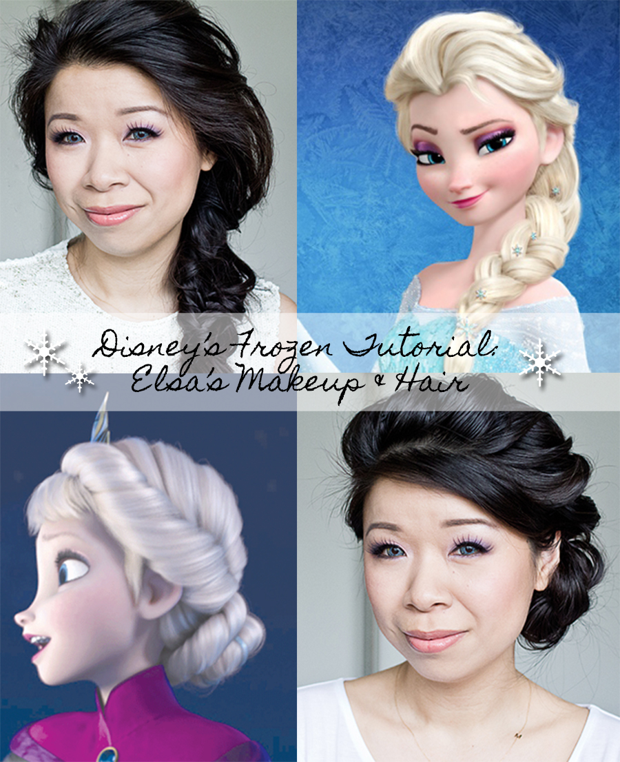LaBelleMel_Frozen_Elsa_Hair_Makeup_Sequin_Ombre_Dress-0