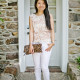 LaBelleMel-Summer Neutrals - Gold-Lace-Skinny-Whites-1