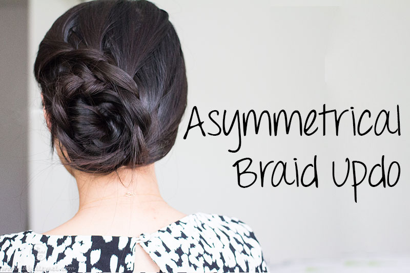 LaBelleMel_Asymmetrical_Lace_Braid_Updo_1