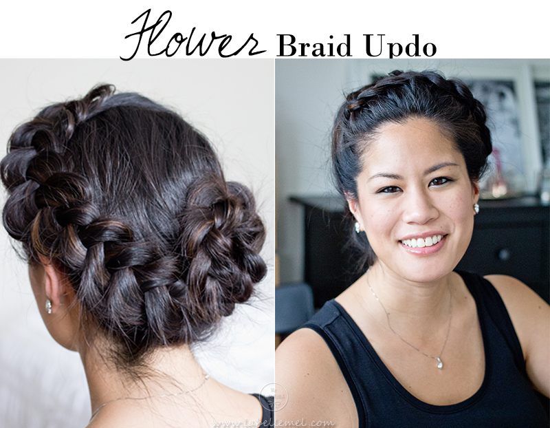 LaBelleMel_Flower_Braid_Updo