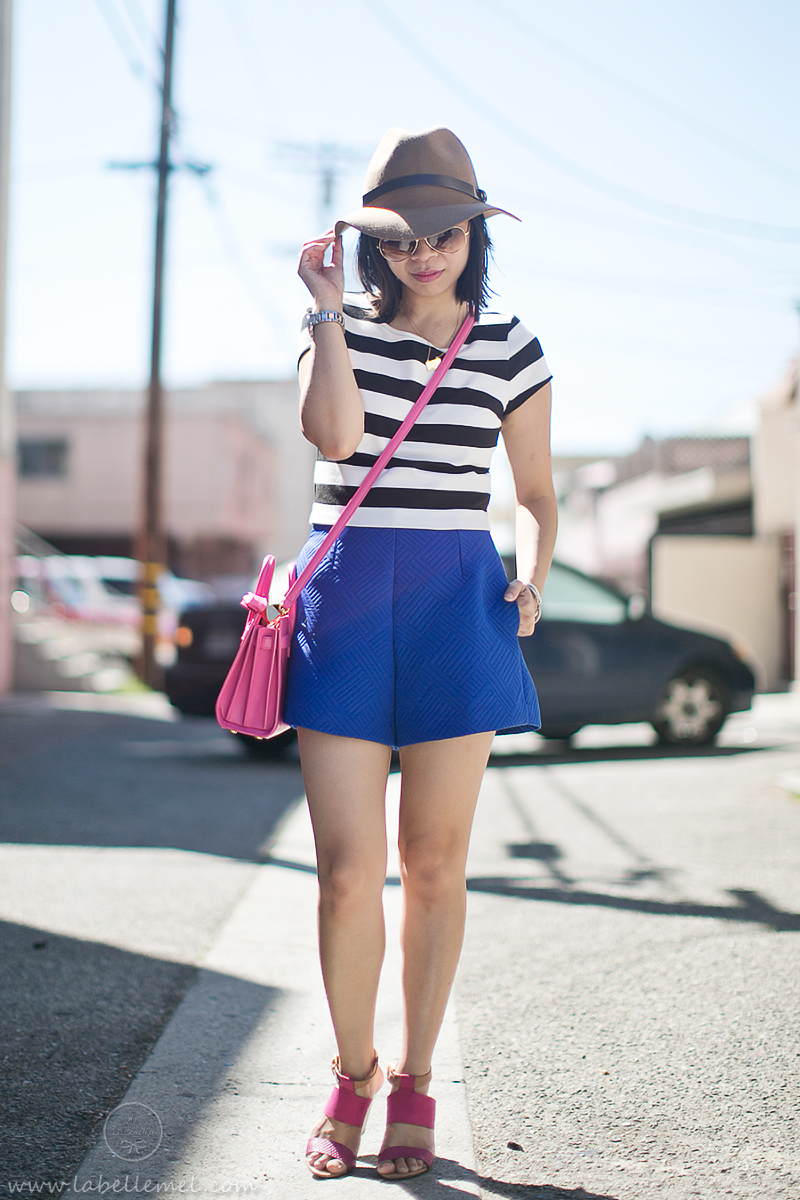 LA_OOTD _Crop Top _ High-Waisted_Shorts_2