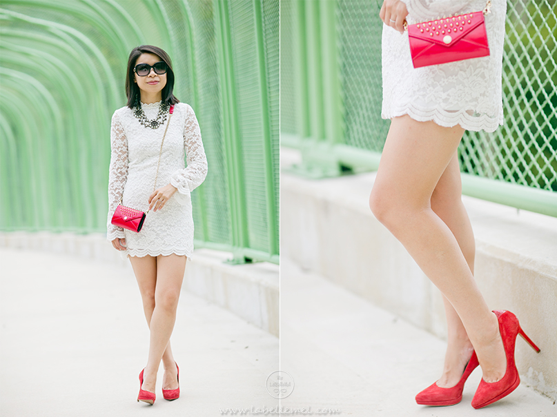 LaBelleMel_White_Lace_Dress_Red_Accents_3