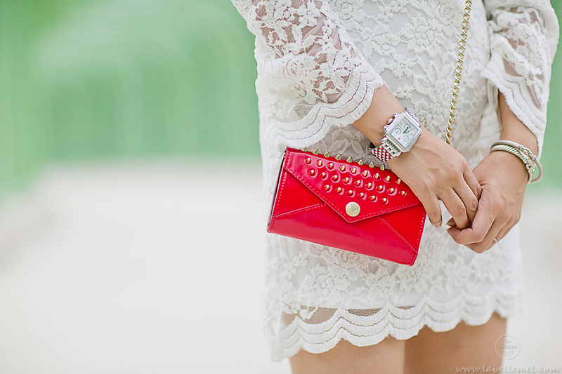 LaBelleMel_White_Lace_Dress_Red_Accents_4