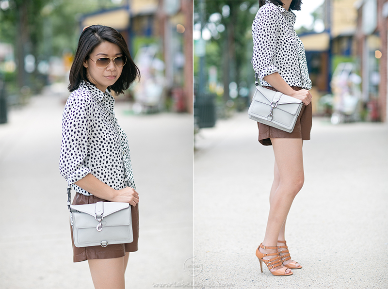 LaBelleMel_Prints_Pleather_Shorts_2