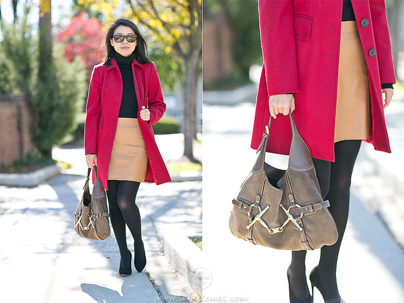 LaBelleMel_Autumn_Colors_Workwear_Wednesday_Red_Coat_Camel_Skirt_4