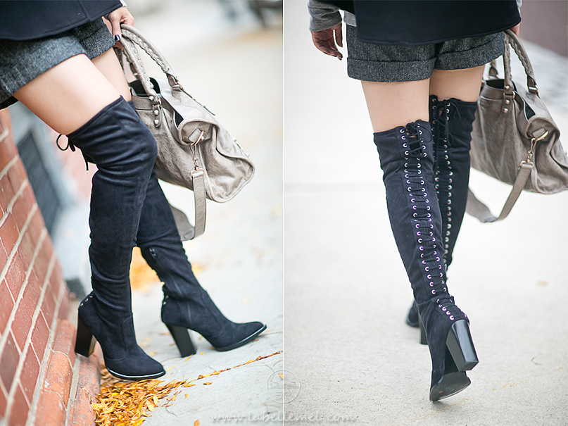 LaBelleMel_Monotone for Autumn_Cape_Thigh_High_Boots_3