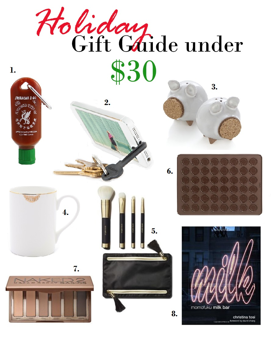 Stocking stuffers holiday gift guide under labellemel