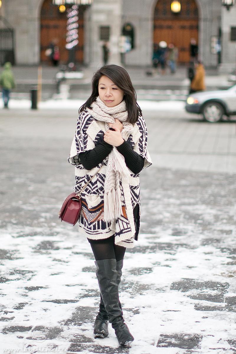 LaBelleMel_Montreal_Sweater Dress_Apache_Cardigan_1