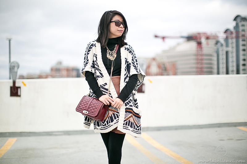 LaBelleMel_Southwestern_Cardigan_Asymmetrical_Skirt_3