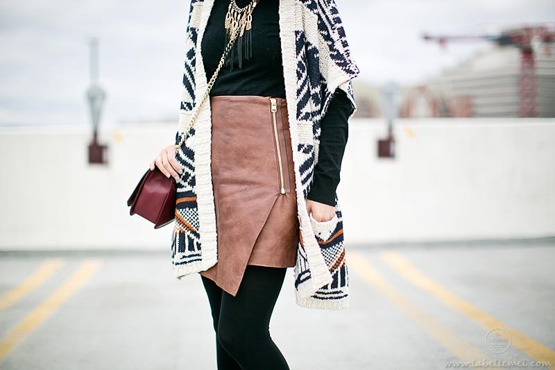 LaBelleMel_Southwestern_Cardigan_Asymmetrical_Skirt_4