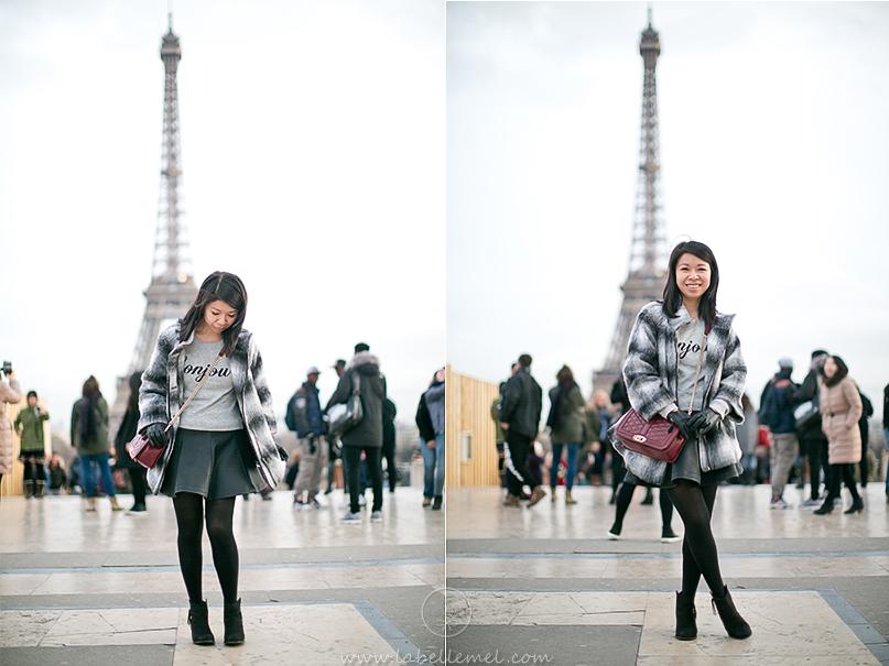 Bonjour_Paris_Grey_Sweater_Black_Pleather_Skirt_2