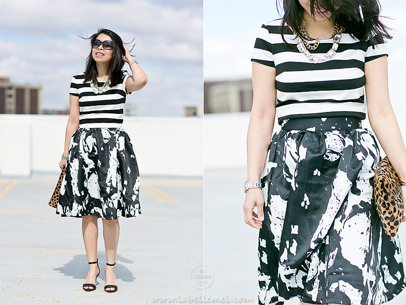 LaBelleMel_Mixed_Print_Black_White_OOTD_4
