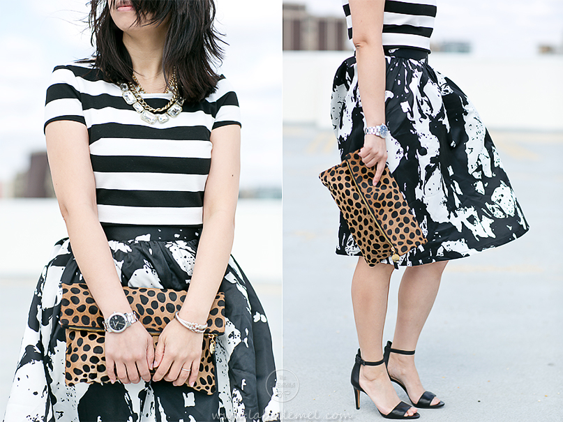 LaBelleMel_Mixed_Print_Black_White_OOTD_5