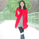LaBelleMel_Rainy_Day_Striped_Dress_Red_Trench_1