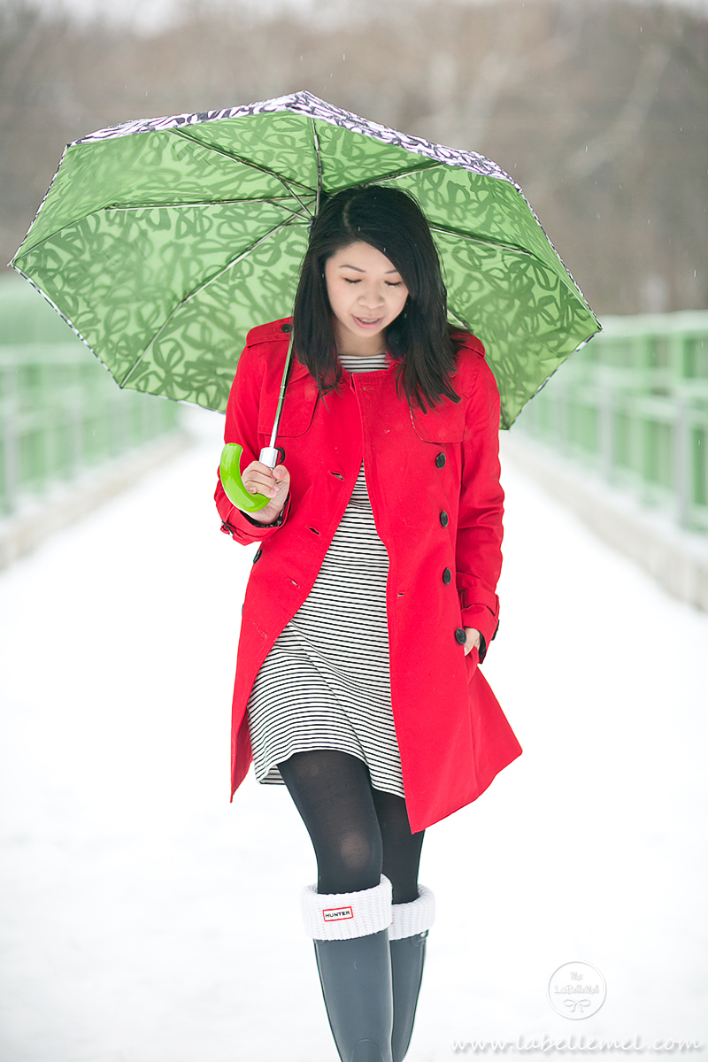 LaBelleMel_Rainy_Day_Striped_Dress_Red_Trench_2