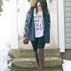 LaBelleMel_Sunday_Casual_Tribal_Cardigan_Graphic_Tee_1