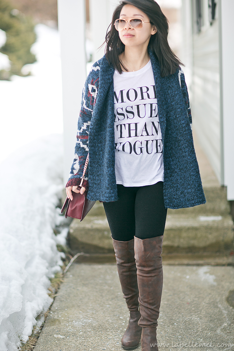 LaBelleMel_Sunday_Casual_Tribal_Cardigan_Graphic_Tee_2